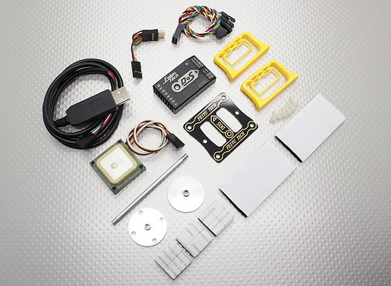 GPSとFY-DOS慣性姿勢安定剤(マルチローター)
