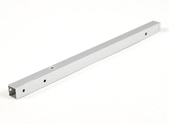 アルミスクエアチューブDIYマルチローター12.8x12.8x250mm X525(.5Inch)(シルバー)