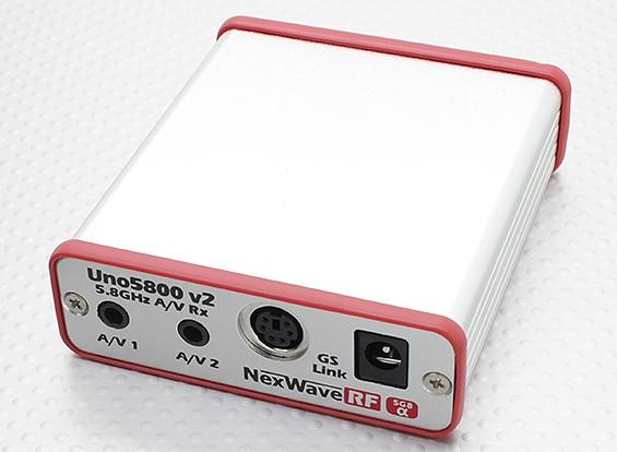 GS-リンク/ワットImmersionRC UNO5800v2 5.8GHz帯のA / Vレシーバ - デュアル出力