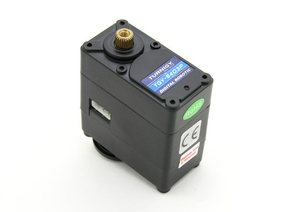 Turnigy TGY-S403P 180°デジタルロボットサーボ15.3キロ/ 0.19sec / 67グラム