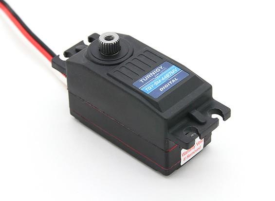 Turnigy™TGY-SM-4487MV防水ロープロファイルステアリングサーボ8.3キロ/ 0.07秒/ 39グラム