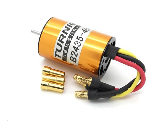 HXT 2435(370S)4040kvブラシレスInrunner