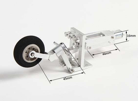 Turnigyすべての金属開閉Tailwheelアセンブリ1.5  -  1.7メートル全幅ウォーバーズ