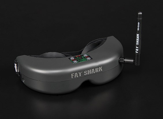 FatSharkテレポーターV3 RTF FPVヘッドセットシステムワット/カメラと5.8G TX