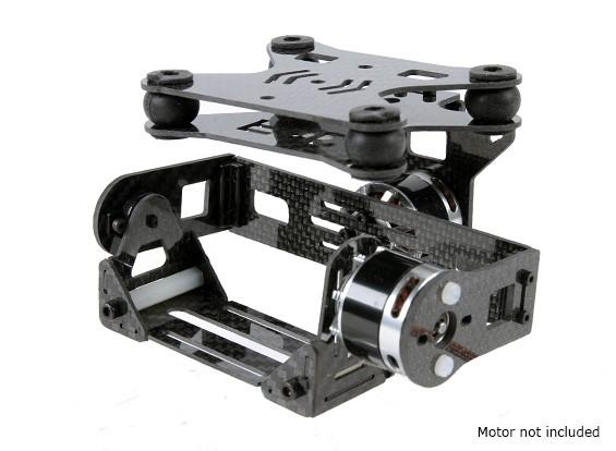 カーボンファイバーバージョン -  DJIファントム用2軸ブラシレスジンバル衝撃吸収