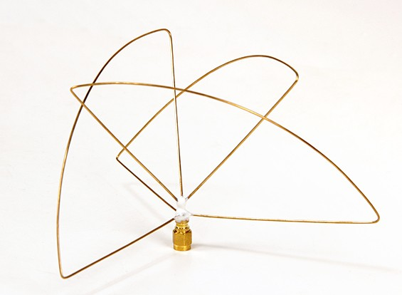 円偏900MHzの送信アンテナ(RP-SMA)(LHCP)(ショート)