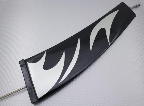 グラスファイバーRCヨットヨットサンダー - フィン