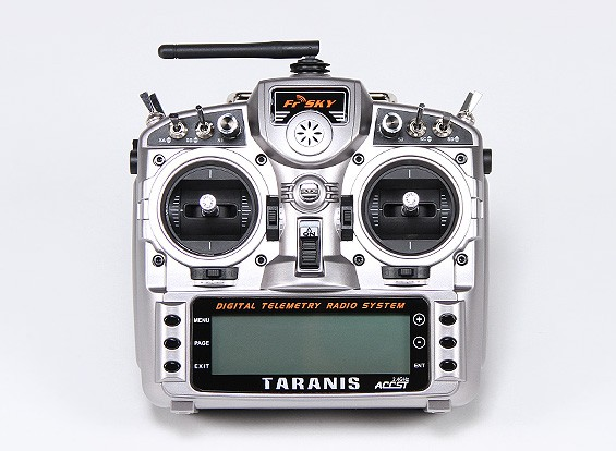 FrSky 2.4GHzのACCST TARANIS X9Dデジタルテレメトリー無線システム(モード2)