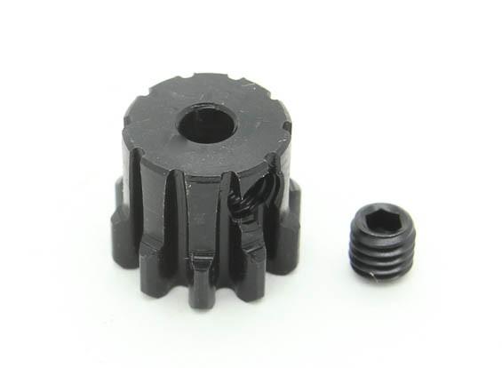 10T / 3.175ミリメートルM1焼入れ鋼ピニオンギア(1個)