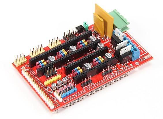 3DプリンターRAMPS 1.4コントロールボードKingduinoメガシールド