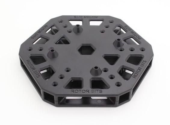 RotorBits HexCopterマウントセンター(ブラック)