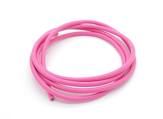 Turnigyピュアシリコーンワイヤー14AWG 1メートル(ピンク)
