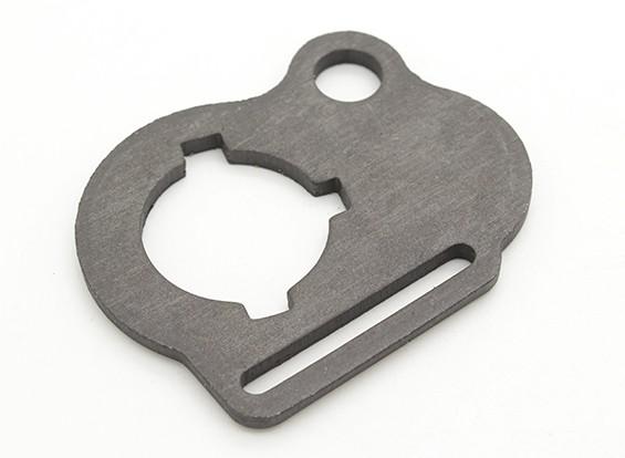 DytacダブルウェイAEG用スリングエンドプレート(HKタイプループ/ 1-1 / 4インチ)