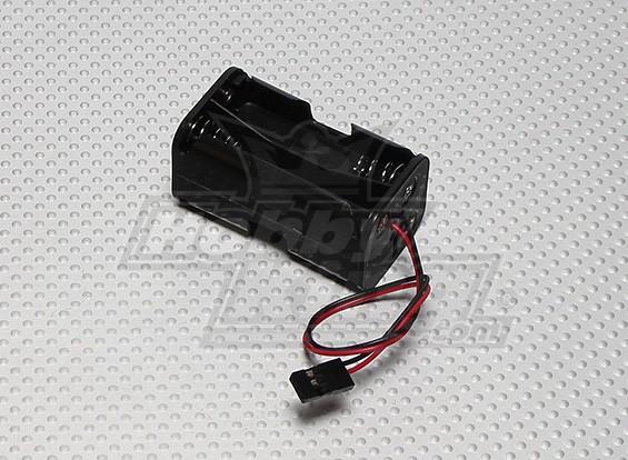 4×単三電池ホルダー(Rxのパック)