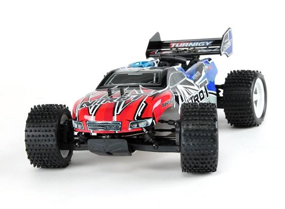 Turnigy 1/16 4WDナイトロ-Tトラギーワット/ 0.07エンジン(ARR)