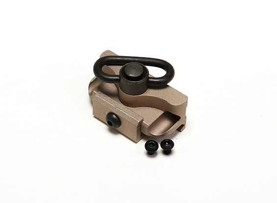 M951の懐中電灯のための要素EX258 M7スカウトライトマウント(タン)