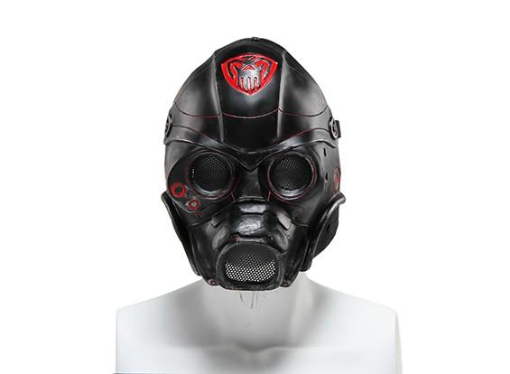 FMAワイヤーメッシュフルフェイスマスク(テンプラー、ゴールド)