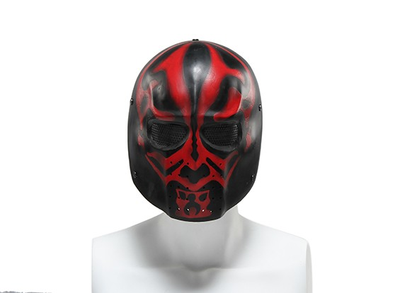 FMAワイヤーメッシュフルフェイスマスク(ELLIOT DMF)