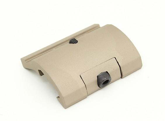 要素EX289ギアセクタースタイルの懐中電灯は、M951 M961(タン)のためのマウント