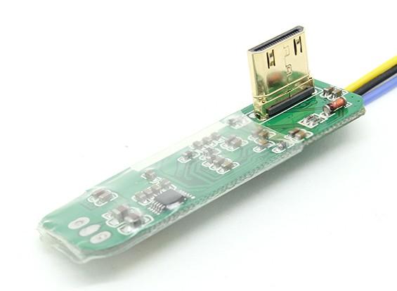 AV変換基板にFPVミニHDMI