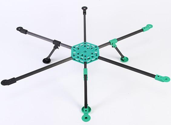 モジュラー組立システムでRotorBits HexCopterキット(KIT)