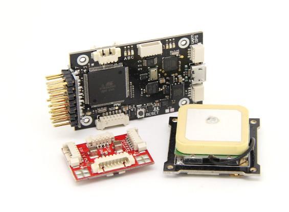HobbyKing HKPilotメガミニコンボフライトコントローラGPSとパワーモジュール