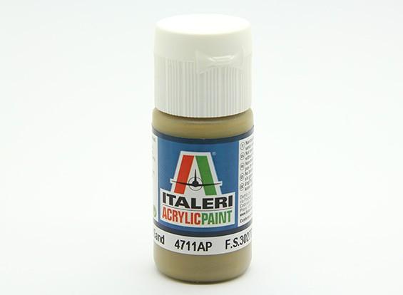イタレリアクリルペイント - フラットアーマーサンド