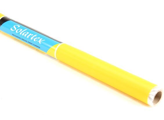 サテンSolartex塗装済みアイアン・オンファブリックカバーリング(ビンテージイエロー)(5mtr)