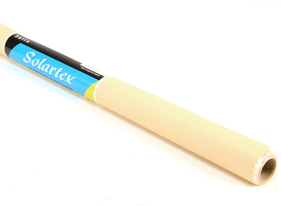 サテンSolartex塗装済みアイアン・オンファブリックカバーリング(リネン)(5mtr)