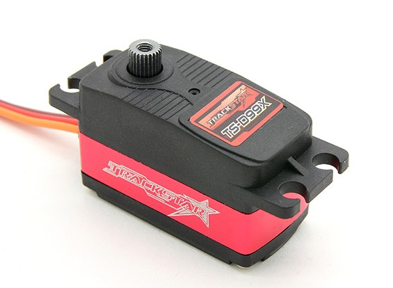 TrackStar TS-D99Xデジタル1/10スケールツーリング、ドリフト/バギーステアリングサーボ10キロ/ 0.08sec / 45グラム