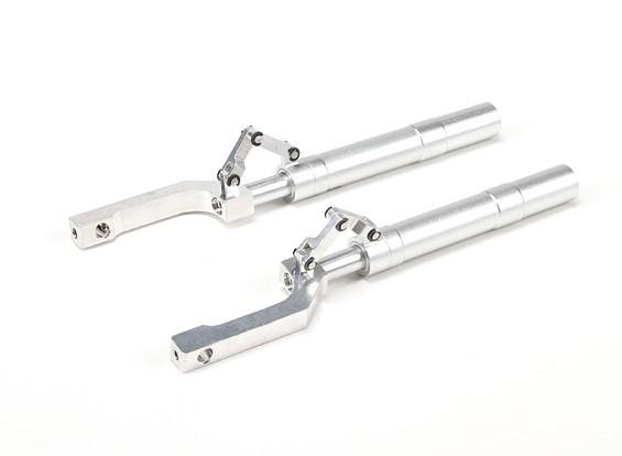 合金オレオStrutsのトレーリングリンク148ミリメートル〜12.7ミリメートルピン(2個)とオフセット