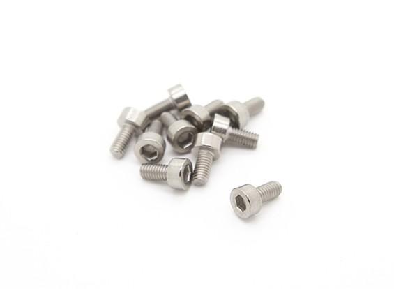 チタンM3は6 Sockethead六角ネジ(10個入り/袋)×