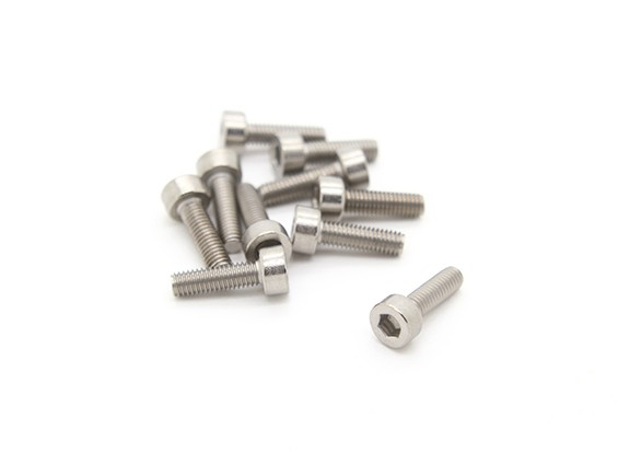チタンM3は10 Sockethead六角ネジ(10個入り/袋)×