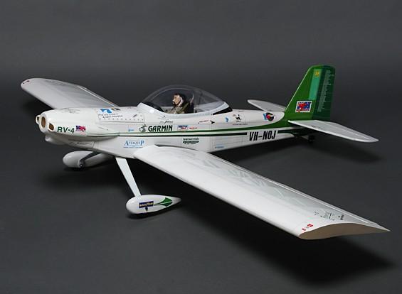 ヴァンの航空機RV-4スポーツスケールバルサGP / EPの1600ミリメートル(ARF)