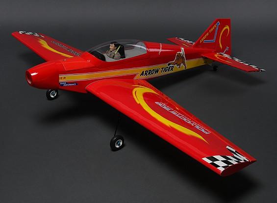 アロータイガースポーツバルサ1480ミリメートル(ARF)
