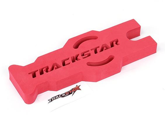 TrackStar 1/10&1/12スケールツーリング/パンカーメンテナンススタンド(レッド)(1個)