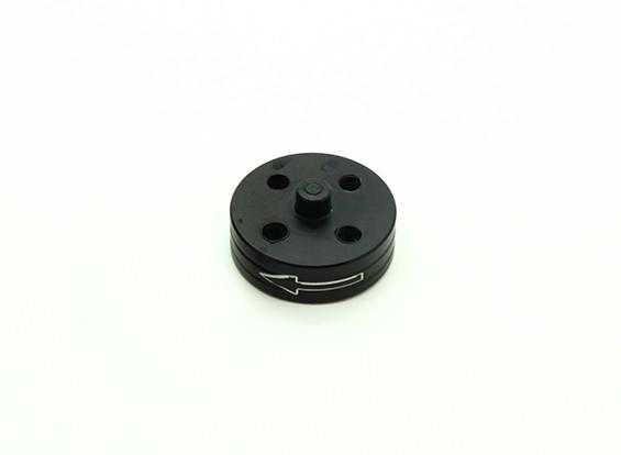 CNCアルミクイックリリース自己締め付けプロップアダプター - ブラック(プロップサイド)(反時計回り)
