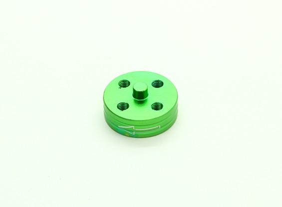 CNCアルミクイックリリース自己締め付けプロップアダプター - グリーン(プロップサイド)(反時計回り)