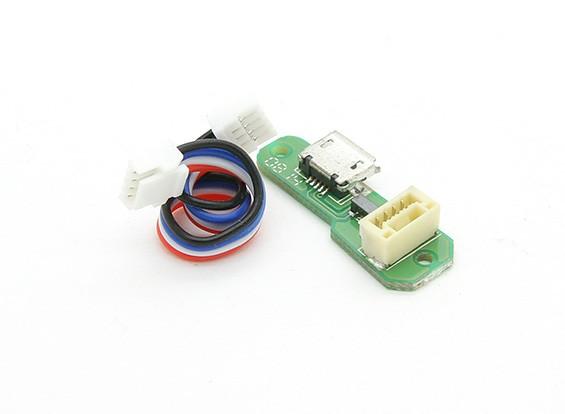 Walkera QR X350 PRO FPV GPS RCクワッドローター - マイクロUSBボード