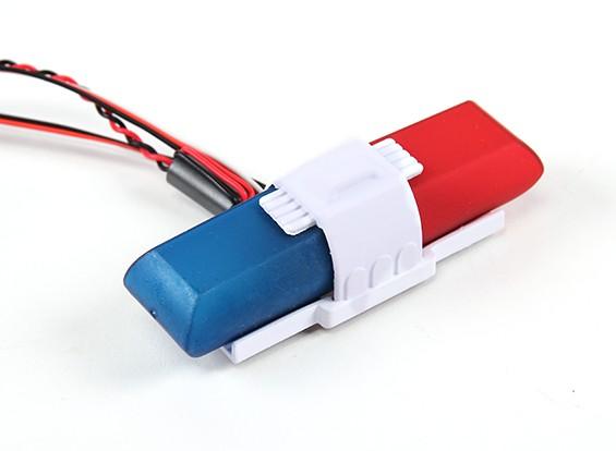 Turnigyパトカーライトとサウンドシステム
