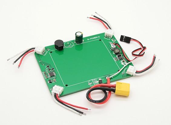 QuanumノヴァFPV GPSウェイポイントクワッドローター - 配電基板