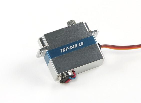 /アルミケース1.4キロ/ 0.12sec / 8.6グラムワットTurnigy™TGY-245-LV低電圧DLGウイングサーボ