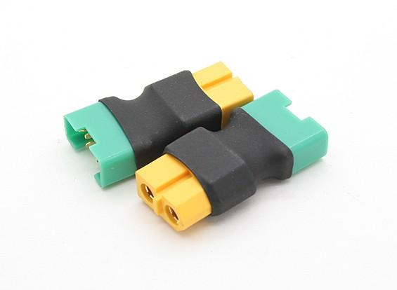XT60電池アダプターにMPXプラグ(2個/袋)