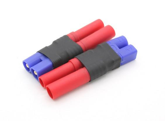 HXT4mm電池アダプター(2個/袋)にEC3