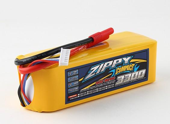ジッピーコンパクト3300mAh 6S 60Cリポパック