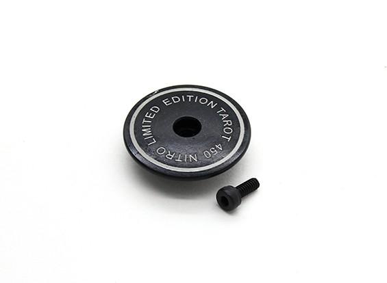 タロット450のPro / ProのV2 DFCメタルヘッドストッパー - ブラック(TL45018-01)