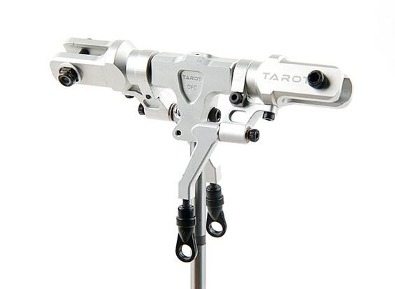 タロット450 PRO / PRO V2 DFCスプリットロックローターヘッドアセンブリ - シルバー(TL48025-02)