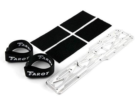 タロットT-REX 600EのPRO / 600EFL PROアルミバッテリーマウントトレイ(TL60215-01)