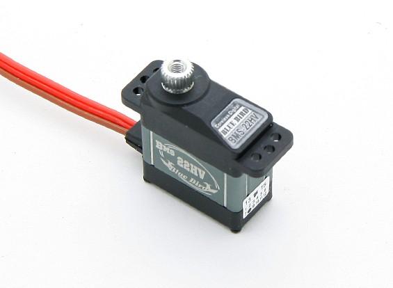 BMS-22HV高電圧マイクロサーボ(メタルギア)2.5キロ/ .05sec / 15.2グラム