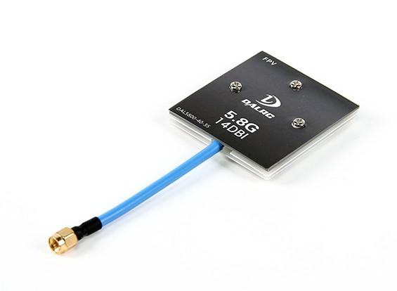 5.8GHz帯14dBi指向性パッチアンテナ(SMA)
